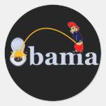 Obama (toilet) sticker