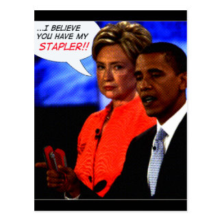 obama took my stapler postcard