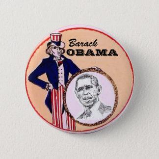 Obama Uncle Sam Button