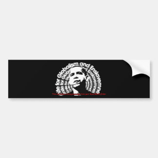 Obama Unite for Globalism & Enslavement Bumper Sticker