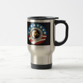 Obama US Flag Travel Mug