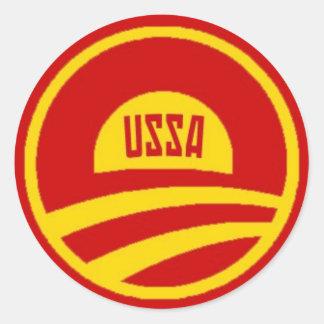 Obama USSA Sticker