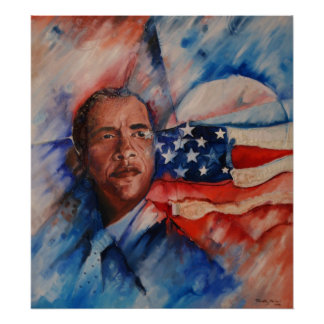 Obama: Vision Personified - Canvas Print