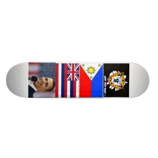 obama/voleurs/Hawaï Plateau De Planche À Roulettes