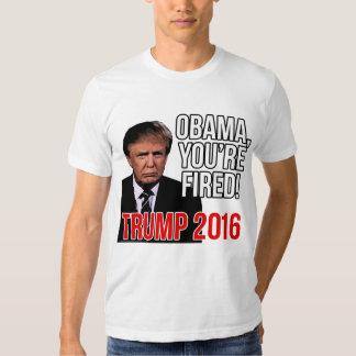 Obama vous êtes mis le feu, Donald Trump pour le Tee Shirts