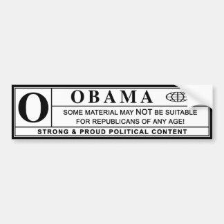 obama : warning label :