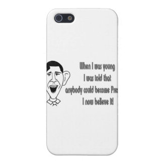 Obama - When I was young iPhone 5 Case