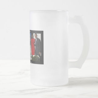 Obama White House Tall Frosted mug
