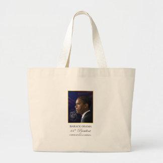 Obama with JFK Portrait - Tote bag