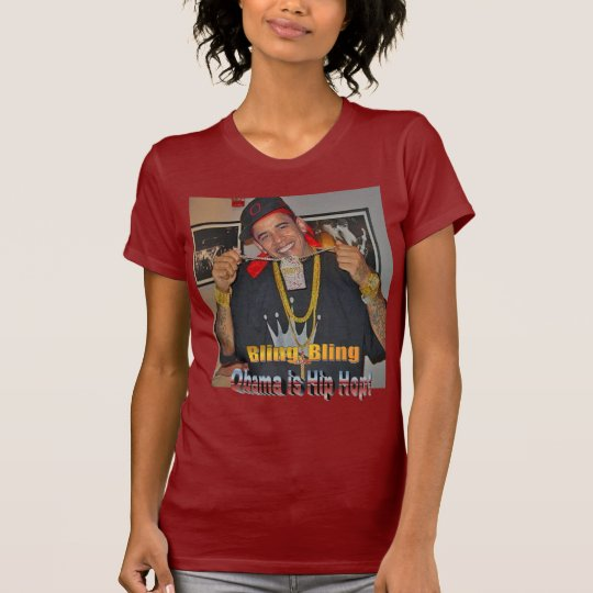 Obama woman's hip hop T-Shirt