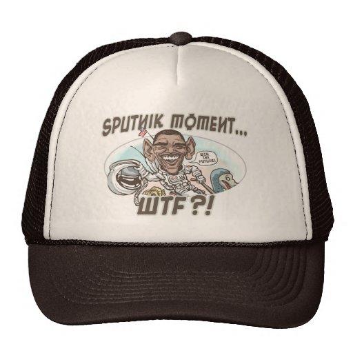 Obama WTF Dodo Bird Moment Mesh Hats