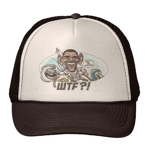 Obama WTF Dodo Bird Moment Trucker Hat