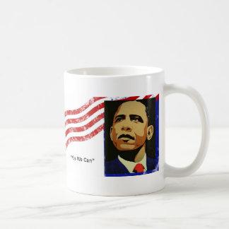 Obama / Yes We Can Coffee Mug