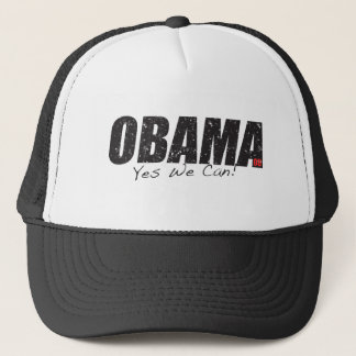 """Obama """"Yes We Can!"""" Hat"""