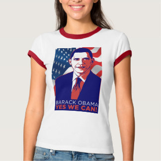 """Obama """"Yes We Can"""" Inauguration Speech T-Shirt"""