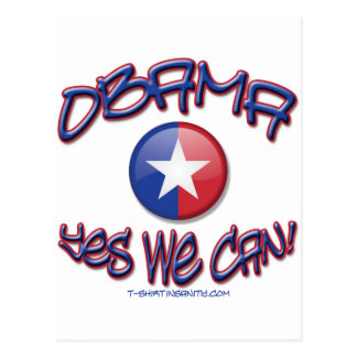 Obama Yes We Can Postcards
