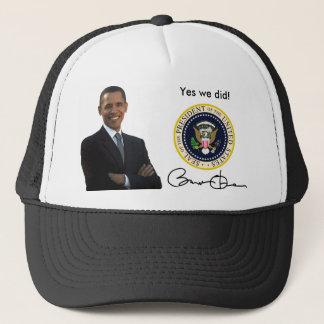 Obama Yes We Did - Baseball Cap