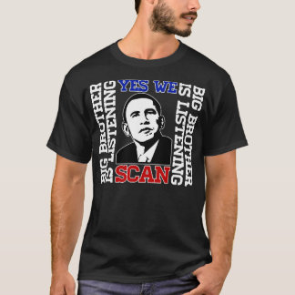 Obama Yes We Scan T-shirt