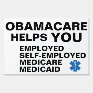 Obamacare Helps You Sign