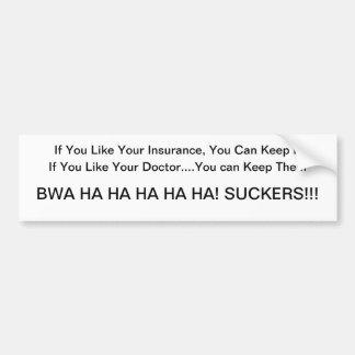 Obamacare Lies Bumper Sticker