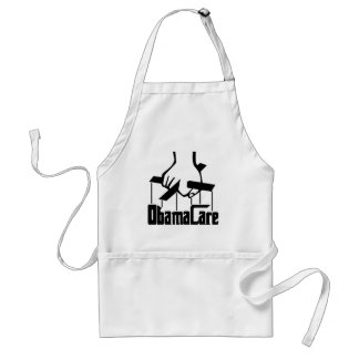 ObamaCare - Strings Attached Adult Apron