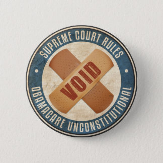 Obamacare Unconstitutional 2 Inch Round Button