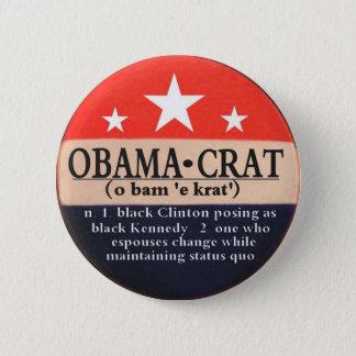 Obamacrat pin