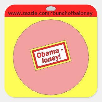 Obamaloney promotion sticker