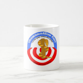 obamanation care latin coffee mug