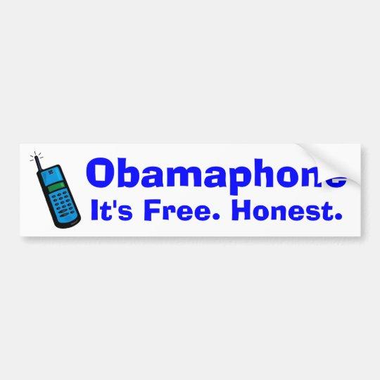 Obamaphone Bumper Sticker