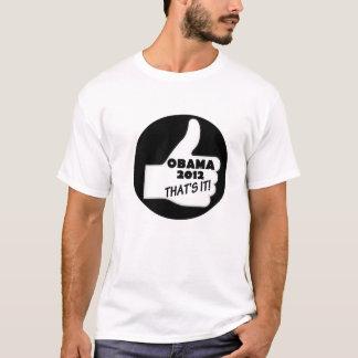Obama's 2012 campaign T-Shirt