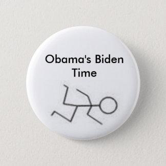 Obama's Biden Time 2 Inch Round Button