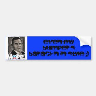 Obama's bumper sticker