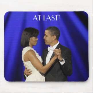 Obamas dance, AT LAST! Mouse Pad