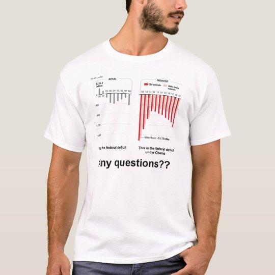 Obama's Federal Deficit T-Shirt