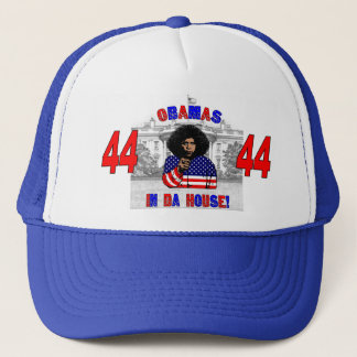 Obamas In Da House Hat