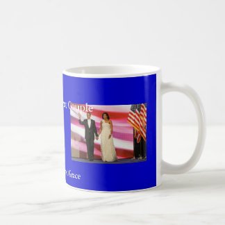 Obamas in True Class and Grace Coffee Mug