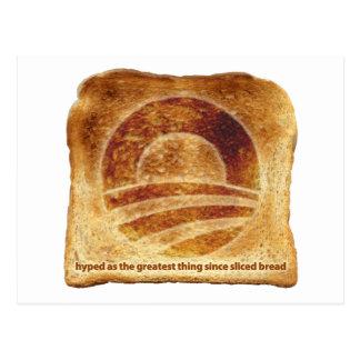 Obama's Toast Postcard