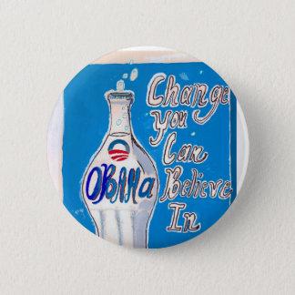 obamawaterdeepblue 2 inch round button