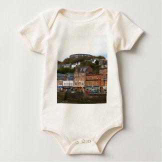 Oban, Scotland Baby Bodysuit