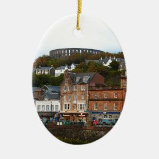 Oban, Scotland Ceramic Ornament