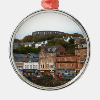 Oban, Scotland Metal Ornament