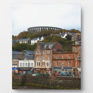 Oban, Scotland Plaque