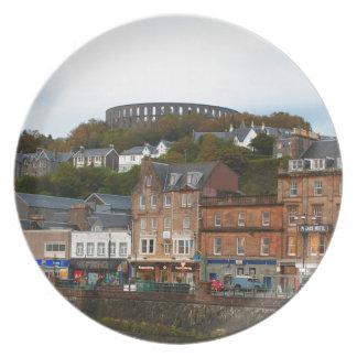 Oban, Scotland Plate
