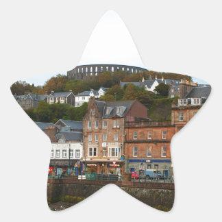 Oban, Scotland Star Sticker