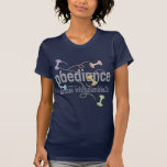 Obedience: Dances with Dumbbells Tee Shirts