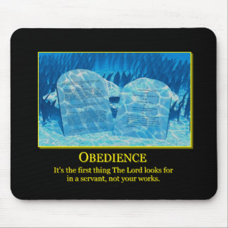 Obedience MP Mouse Pad