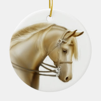 Obedient Show Horse Ornament
