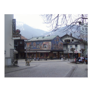 Oberammergau Austria Postcard