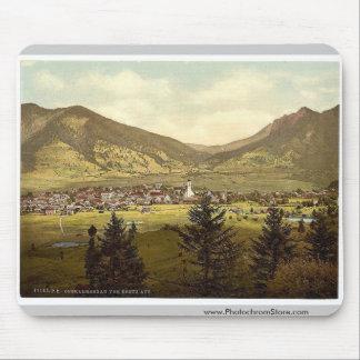 Oberammergau from Kreus (i.e. Kreuz), Upper Bavari Mouse Pad